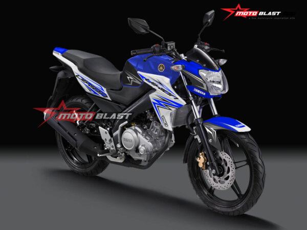 Decal Stiker Yamaha Vixion Lightning Blue Splash Motoblast Id