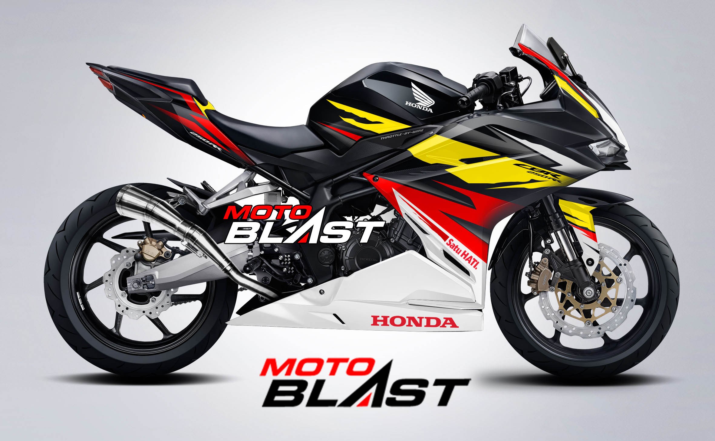 Motoblast stiker